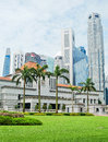 Parliament of Singapore Royalty Free Stock Photo