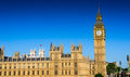 Parliament of UK Royalty Free Stock Photos