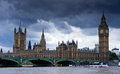Parliament of UK Royalty Free Stock Images