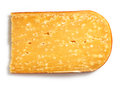 Parmesan cheese slice Royalty Free Stock Photo