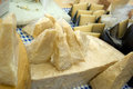 Parmesan parmigiano reggiano the famous italian cheese Royalty Free Stock Image
