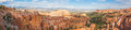 Paronamic view bryce canyon national park utah usa Royalty Free Stock Photography