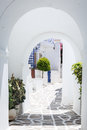 Paros greece the village of prodomos in island Stock Images