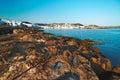 Paros landscape, Greece Royalty Free Stock Photo