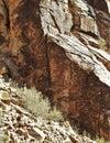 Parowan Gap Petroglyphs Royalty Free Stock Photo