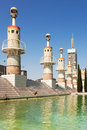 Parque de la espana industrial in barcelona summer day catalonia spain Stock Photos