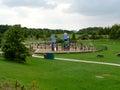 Parque del país del rushcliffe Imagen de archivo