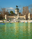 Parque del Retiro Stock Photography