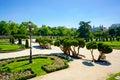 Parque del Retiro Royalty Free Stock Photo
