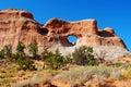 Parque nacional de los arcos Foto de archivo libre de regalías