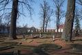 Parques y palacios de Peterhof Fotografía de archivo libre de regalías