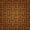 Parquet background texture brown lacquer Royalty Free Stock Photos