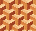 Parquet 3d Seamless Floor Pattern Royalty Free Stock Photo
