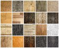 Parquet set of the texture Royalty Free Stock Photography