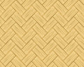 Parquet or straw braid texture seamless Stock Photo