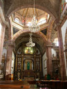 Parroquia Cathedral Interior Stock Photo