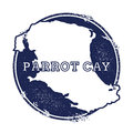 Parrot Cay vector map.