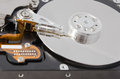 Parsed hard disk drive closeup photo Royalty Free Stock Photos