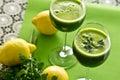 Parsley Vegetable Drink