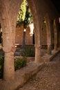 Part of the Agia Napa Medieval Monastery Royalty Free Stock Photos