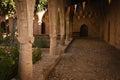 Part of the Agia Napa Medieval Monastery Stock Image