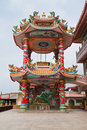 Part of beautyful Chinese shrine Stock Photography