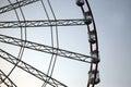 Part Of The Big Ferris Wheel