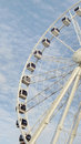 Part of cape wheel in v a waterfront town Royalty Free Stock Image