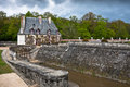 Part of the castle Chenonceau. Loire Valley Royalty Free Stock Photography