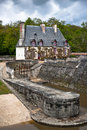 Part of the castle Chenonceau. Loire Valley Stock Photo