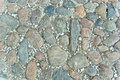 Part of cobblestone road Royalty Free Stock Photo