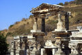 Part of ephesus ancient greek ἔφεσος turkish efes was an ancient greek city on the west coast anatolia near present day Stock Images