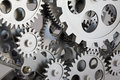 Part of gears. Royalty Free Stock Photo