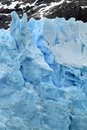Part glacier patagonia south america Royalty Free Stock Photography