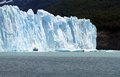 Part glacier patagonia south america Royalty Free Stock Photo