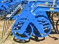 Part of the harrow machinery Royalty Free Stock Photo