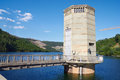 Part of hydroelectric power station geres portugal Royalty Free Stock Photos