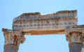 Part on the locality of ephesus izmir turkey middle east Royalty Free Stock Images