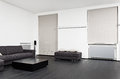 Part of modern sitting room interior Stock Image