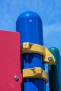 Part of playgrpund in the school yard. Royalty Free Stock Photography