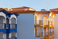 Part of Residential House in Construction at Algarve, Portugal Stock Photos