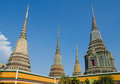 Part of temple in bangkok Stock Photos