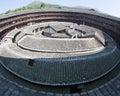 A parte center do edifício da terra do Hakka Imagem de Stock Royalty Free