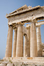 Parthenon on the Acropolis, Athens Stock Photos