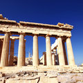 Parthenon ancient Greek temple Royalty Free Stock Photography