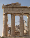 Parthenon ancient temple athens greece doric order Royalty Free Stock Photography