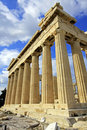 Parthenon de Atenas, Greece Foto de Stock
