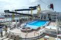 Parthenon Pool, Super Star Virgo Royalty Free Stock Photo