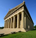 Parthenon replica at centennial park in nashville tennessee usa Stock Photography