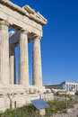Parthenon temple in Acropolis Royalty Free Stock Images